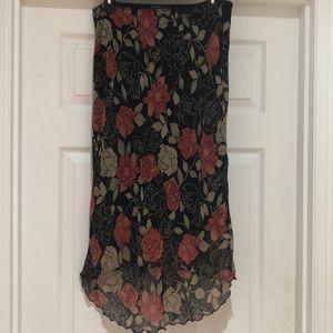 Like New Luna Chix Lined Skirt